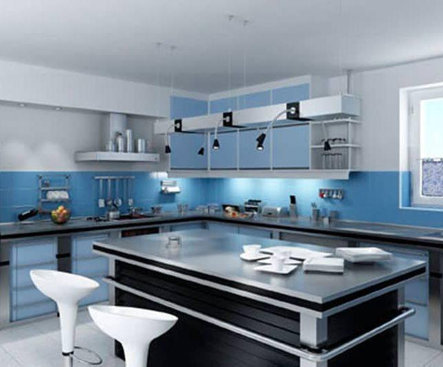 cocina equipada domóticamente